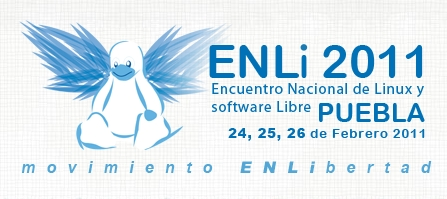 Encuentro Nacional de Linux y Software Libre 2011 - enli-2011