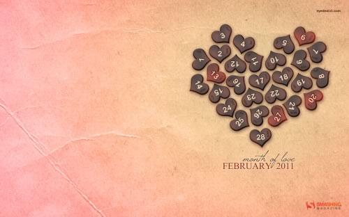 Fondos de pantalla de Febrero 2011 - fondos-pantalla-love_month