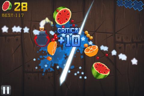 Fruit Ninja para Nokia con Symbian^3 - fruit-ninja