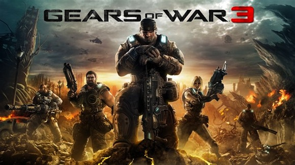 Gears of War 3 ya tiene portada oficial - gears3box-1280.jpg-610x0