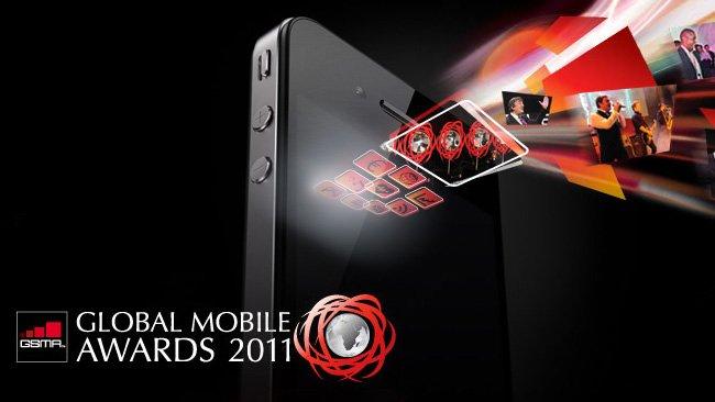 iPhone 4 elegido el mejor móvil del 2010 en el MWC 2011 - iphone4globalmobileaward2011