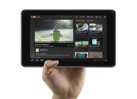 lg optimus pad LG Optimus Pad, la primera tablet con cámara 3D