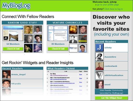 MyBlogLog es cerrada por Yahoo! - mybloglog
