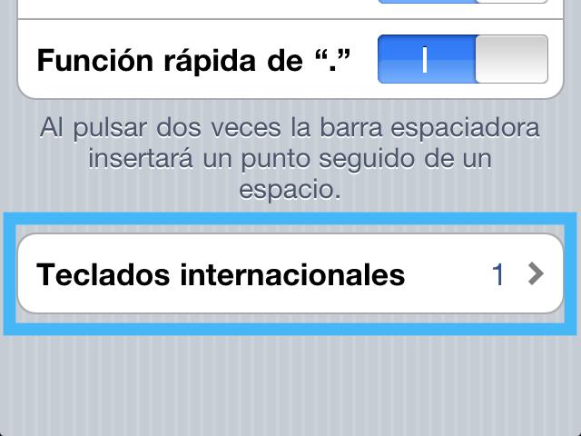 Cómo agregar otro teclado de diferente idioma en tu iPhone o iPad - varios-teclados-internacionales