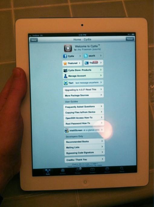Jailbreak para iPad 2 - Jailbreak-ipad-2