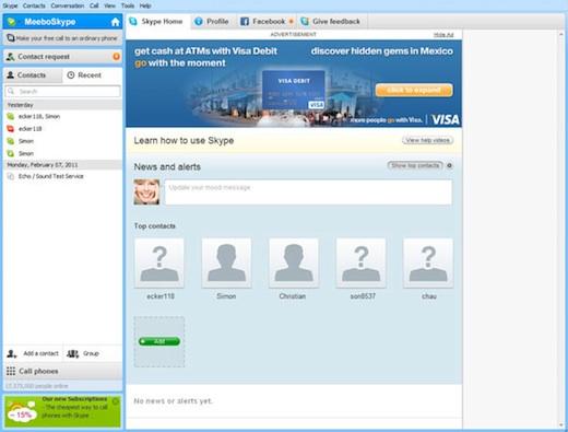 Skype incorporará publicidad en su servicio - Skype-publicidad