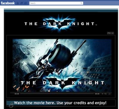 Warner Bros permite alquilar películas en Facebook - facebook-warner
