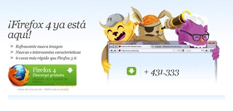 Firefox 4 disponible - firefox-4-lanzamiento