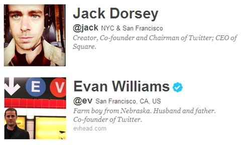 Quinto aniversario de Twitter - fundadores-twitter
