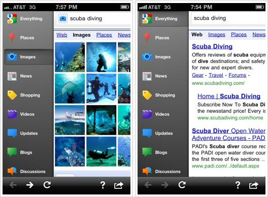 La aplicación de Google para iPhone cambia de nombre y se renueva por completo - google-search-app