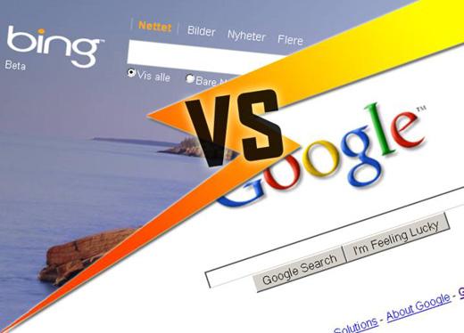 google vs bing Google vs Bing y nadie mas a su alrededor [Infografía]