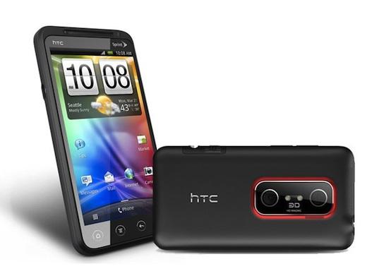 HTC EVO 3D, el primer smartphone de HTC con pantalla 3D - htc-evo-3d
