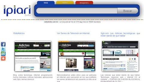 Ipiari Search, un nuevo buscador - ipiari-search