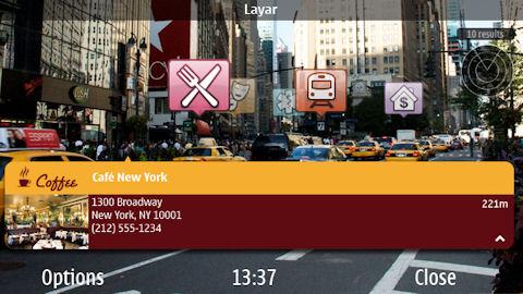 layar4 La Realidad aumentada llega a Nokia con Layar