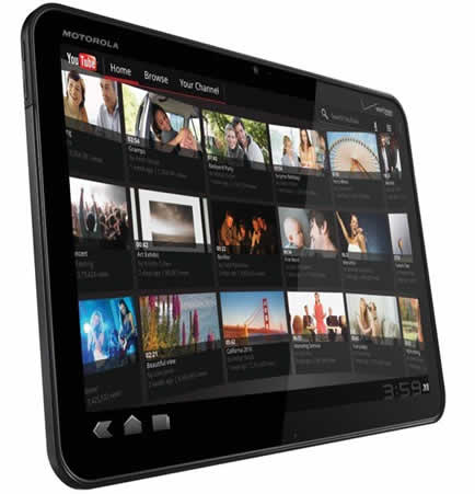 Motorola Xoom será lanzada en México en abril