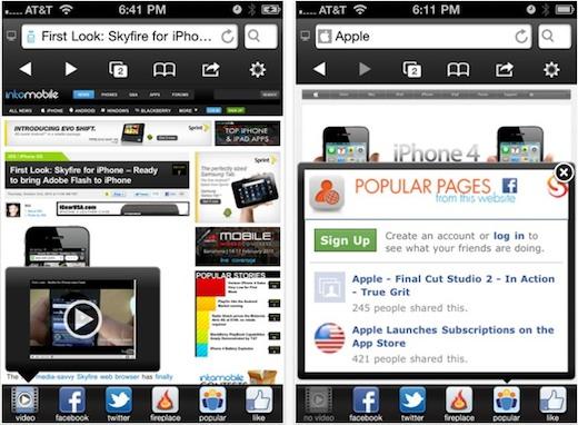 Skyfire para iPhone se actualiza a la versión 3.0 - skyfire-3.0