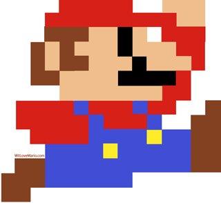 Video de Super Mario Bros en Primera Persona - thumb-super-mario-bros-8bit-Mario