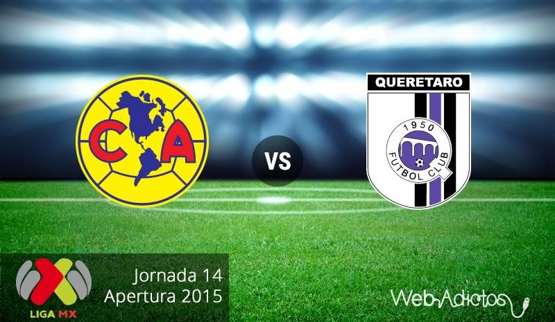 América vs Querétaro en el Apertura 2015 | Jornada 14 - america-vs-queretaro-apertura-2015