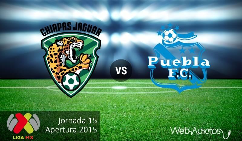 Jaguares vs Puebla, Jornada 15 del Apertura 2015 - jaguares-vs-puebla-apertura-2015