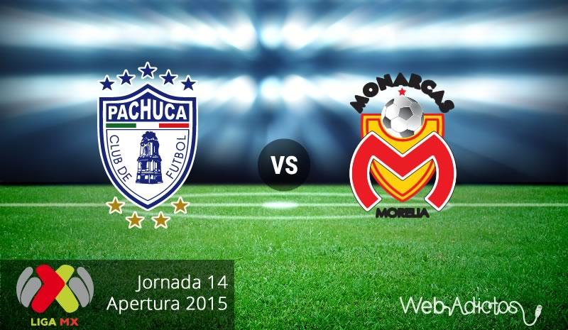 Pachuca vs Morelia, Fecha 14 del Apertura 2015 - pachuca-vs-morelia-apertura-2015
