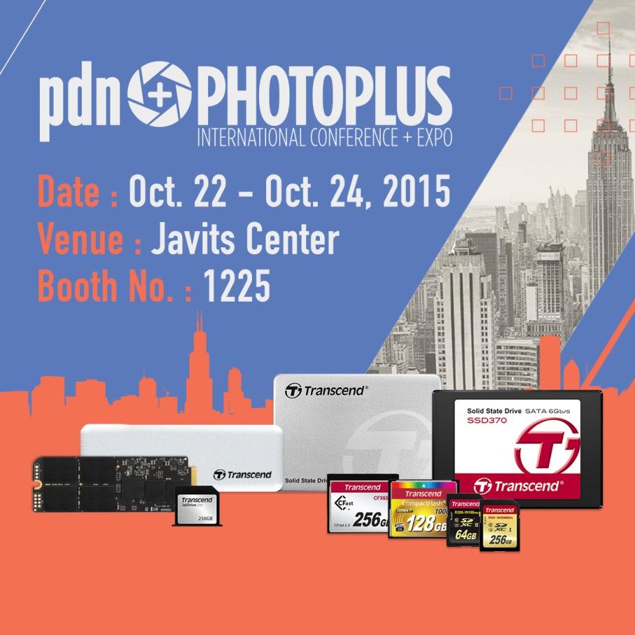 Transcend presentará Soluciones Fotográficas en PhotoPlus - photoplus_2015