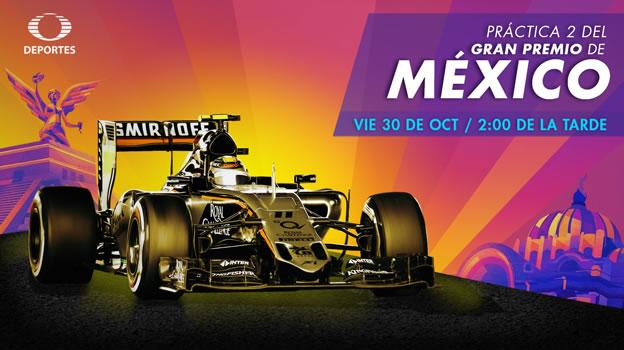Sigue la prácticas del Gran Premio de México 2015 en vivo por internet - practica-2-del-gran-premio-de-mexico-formula-1-en-vivo