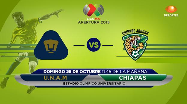 Pumas vs Jaguares, Jornada 14 del Apertura 2015 - pumas-vs-jaguares-en-vivo-apertura-2015