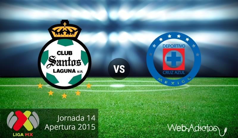 Santos vs Cruz Azul, Fecha 14 del Apertura 2015 - santos-vs-cruz-azul-apertura-2015