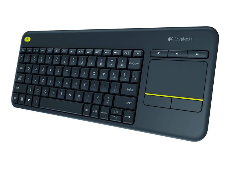 Logitech presenta el teclado touch inalámbrico Logitech K400 Plus - teclado-touch-inalambrico-logitech-k400-plus-2