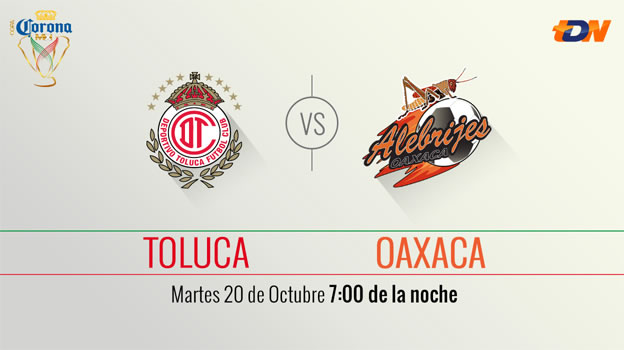Toluca vs Alebrijes, Cuartos de final de la Copa MX AP2015 - toluca-vs-alebrijes-de-oaxaca-en-vivo-copa-mx-ap2015