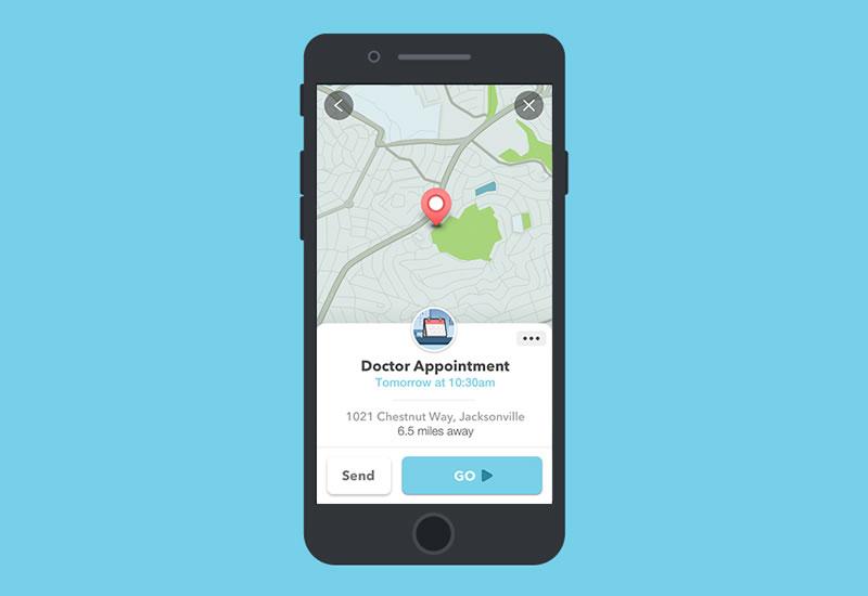 Waze lanza su versión 4.0 para iOS - waze-4-smart-reminders