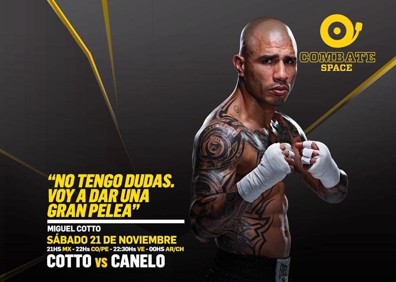 Canelo vs Cotto desde Las Vegas por el título medio de CMB - canelo-vs-cotto-en-vivo-por-space-internet