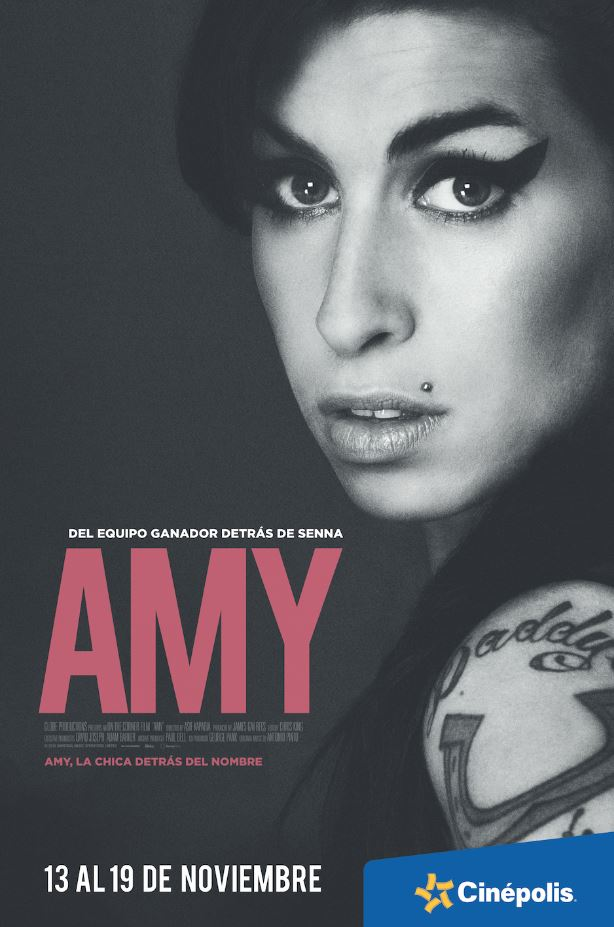 cinepolis proyecta en exclusiva el documental de amy winehouse Cinépolis proyecta en exclusiva el documental de Amy Winehouse