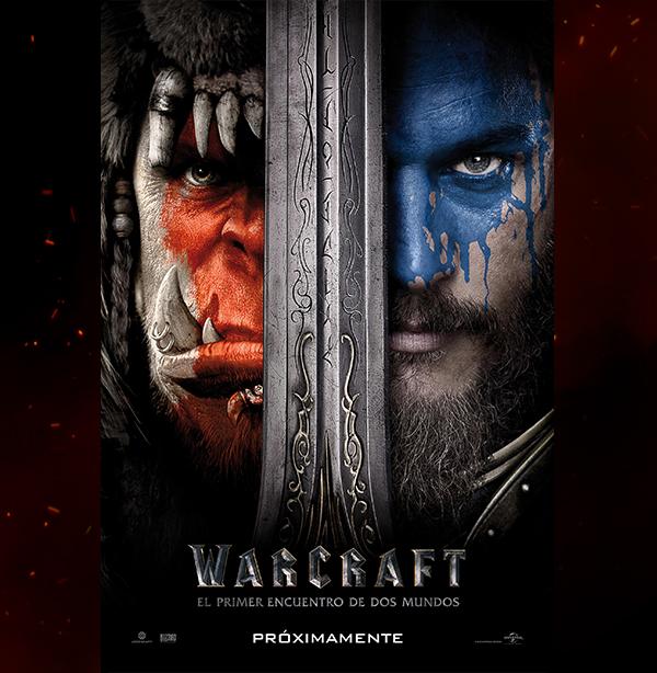 Lanzan poster de Warcraft: El primer encuentro de dos mundos - el-primer-poster-warcraft-el-primer-encuentro-de-dos-mundos
