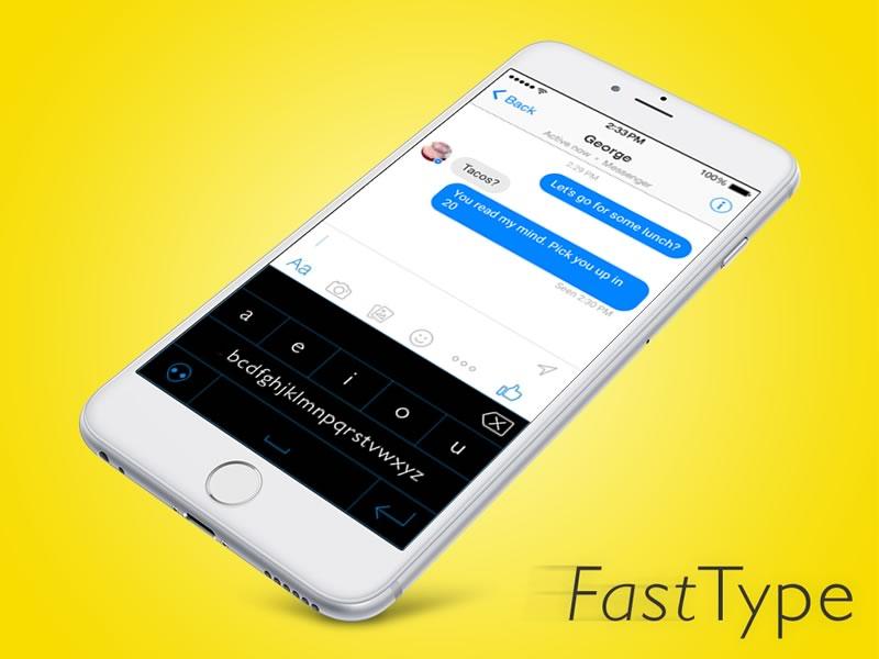 Fast Type para iPhone lanza campaña de fondeo en Kickstarter - fasttype-para-iphone