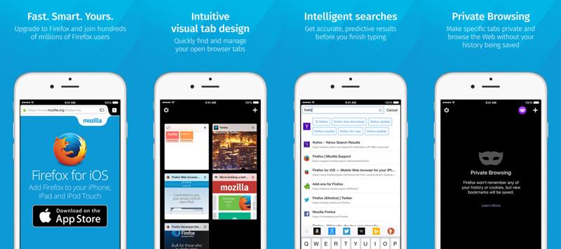 firefox para ios Firefox para iOS ya está disponible a nivel mundial