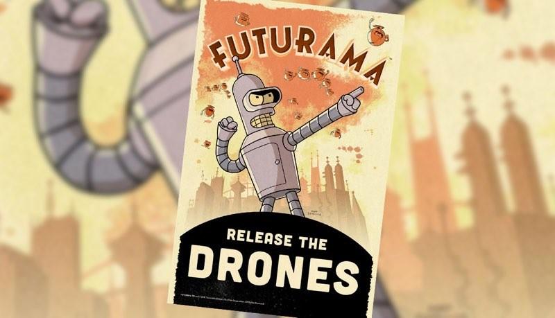Juego móvil de Futurama llegará para Android e iOS - futurama-release-the-drones-800x459
