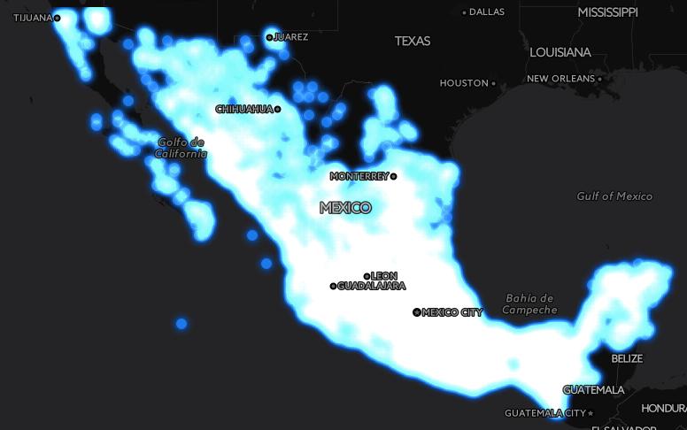 El gran mapa del Internet gratuito en México - mapa-mexico