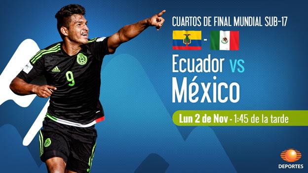 México vs Ecuador, Mundial Sub 17 Chile 2015 - mexico-vs-ecuador-en-vivo-mundial-sub-17-2015