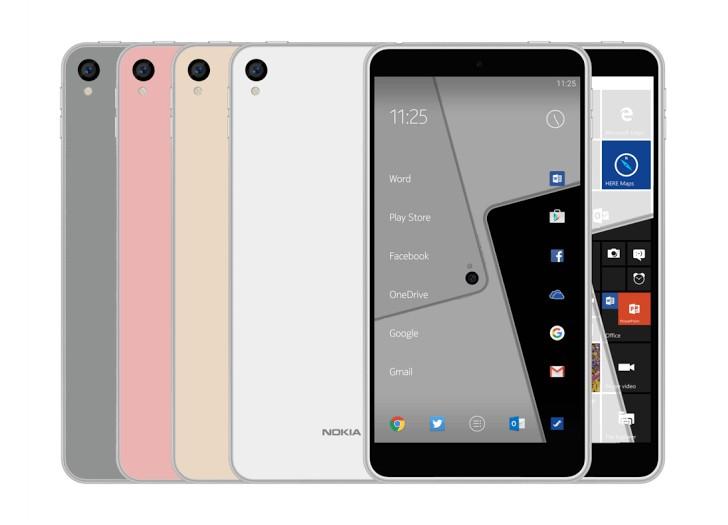 Un hipotético Nokia C1 aparece en internet con Android y Windows 10 - nokiac1