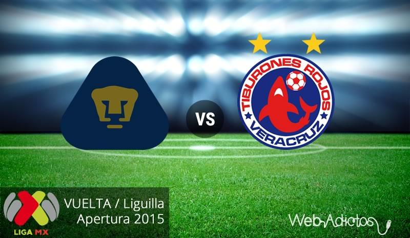Pumas vs Veracruz, vuelta de la Liguilla del Apertura 2015 - pumas-vs-veracruz-vuelta-liguilla-apertura-2015