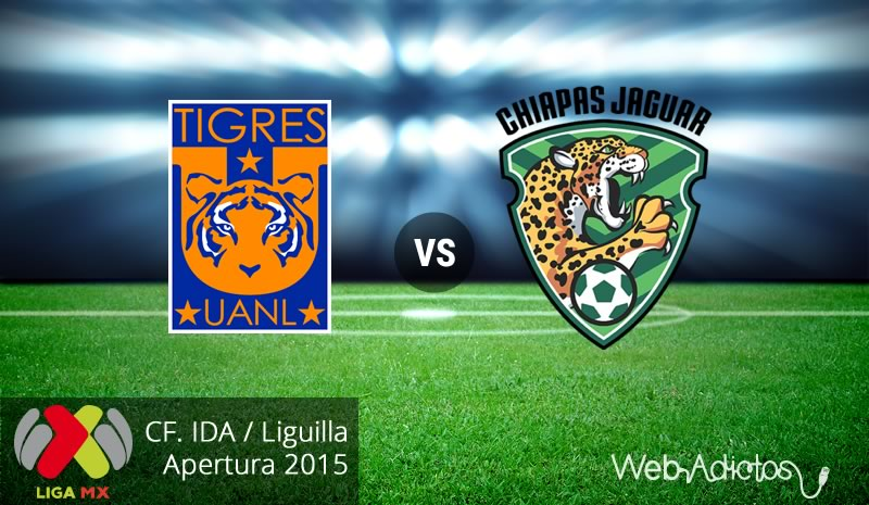 tigres vs jaguares de chiapas liguilla apertura 2015 ida Tigres vs Jaguares, Liguilla del Apertura 2015 | Partido de ida