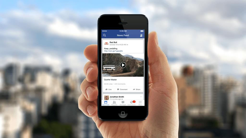 Facebook no logra derrotar a YouTube en el área de vídeos. - 2