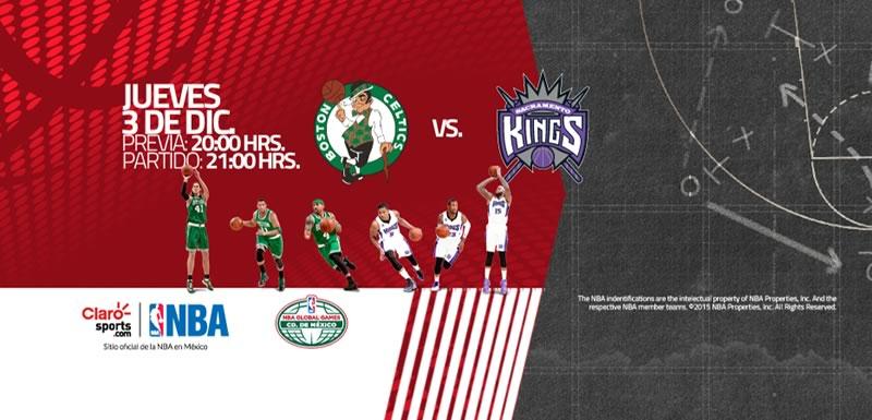 Celtics vs Kings, juego de la NBA en México 2015 - celtics-de-boston-vs-kings-de-sacramento-nba-en-mexico