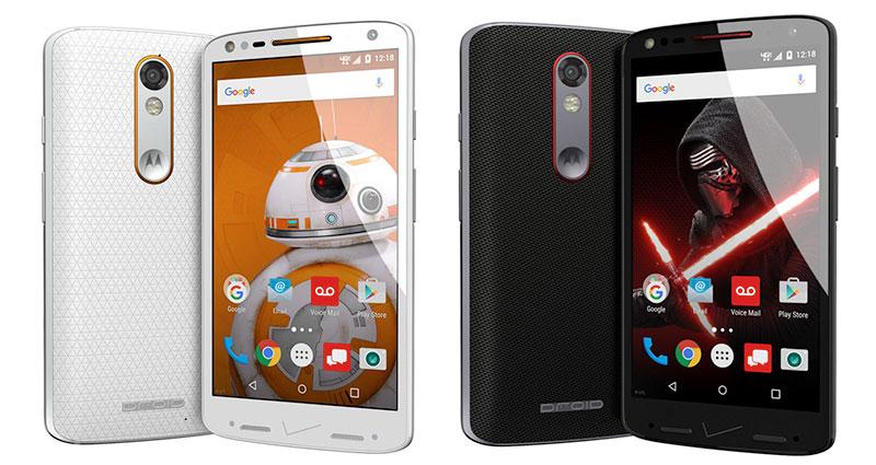 droid star wars Verizon y Motorola presentan edición de Star Wars del Droid Turbo 2