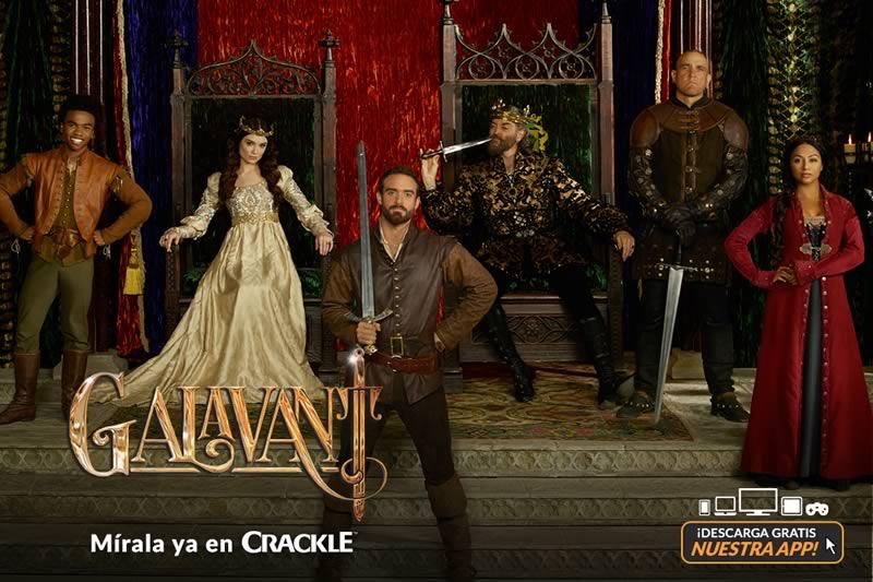 Ya puedes ver Galavant gratis en Crackle en toda Latinoamérica - galavant-online-gratis-en-crackle