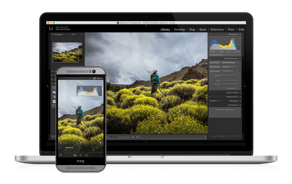 Adobe Ligthroom Mobile disponible gratis para Android - lightroom-para-android