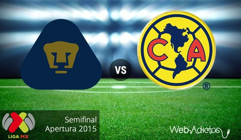 Pumas vs América, Semifinal del Apertura 2015   Partido de vuelta - pumas-vs-america-semifinal-apertura-2015
