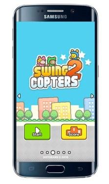Swing Copters 2, el nuevo juego del creador de Flappy Bird - swing-copters-2