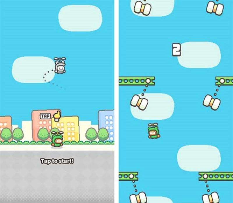 Swing Copters 2, el nuevo juego del creador de Flappy Bird - swing-copters_2-800x698